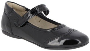 Noel Venus Black Patent Mary Jane