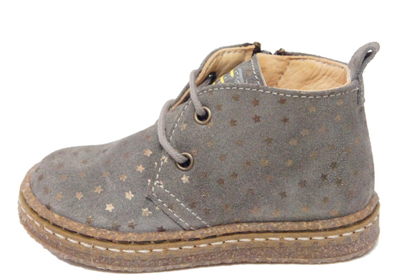 Ocra Taupe/Bronze Star Lace-up