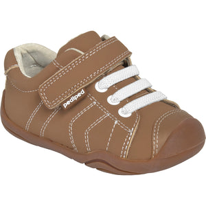 Pediped Grip n Go Jake Light Brown Trainer