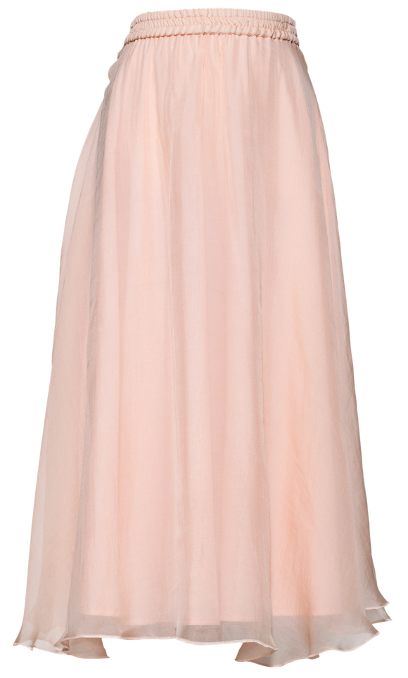 Pale Cloud Pale Pink Opal skirt