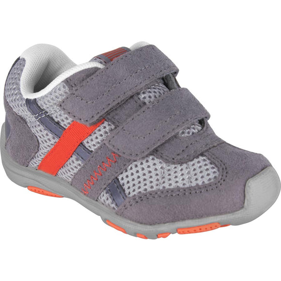 Pediped Flex Gehrig Grey/ Orange Trainer
