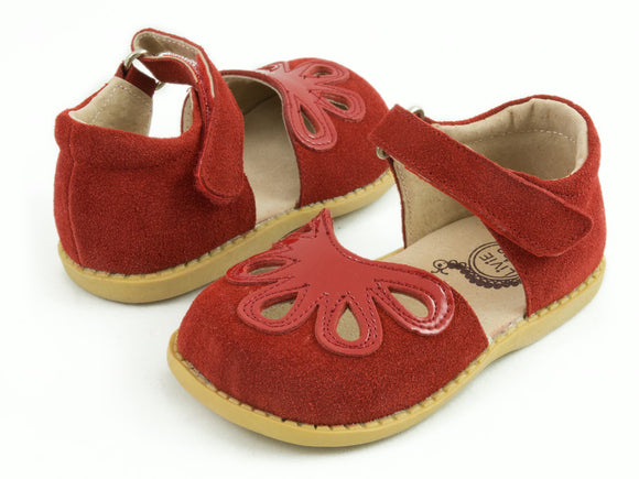 Livie & Luca Petal Red Suede
