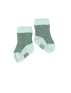 Kidscase Socks Light Blue / Bottle Green