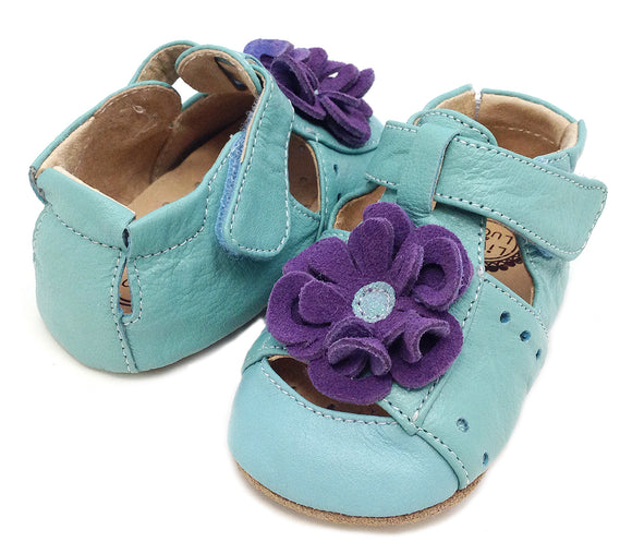 Livie & Luca Baby Bloom Light Blue sandal