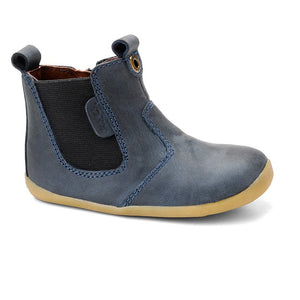 Bobux Step Up navy  nubuck jodphur boot
