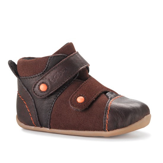 Bobux Step Up Chocolate tumble tom boot