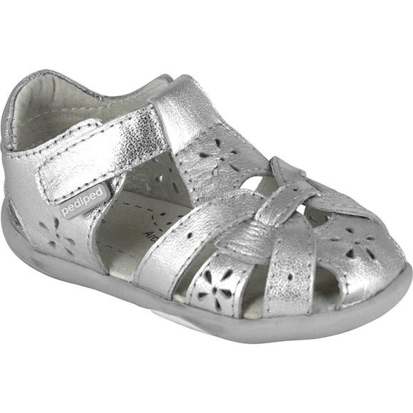 Pediped Grip n Go Nikki Silver Sandal