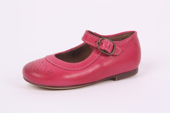 Bisgaard Pink tapered Mary Jane