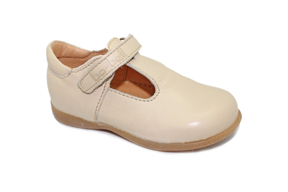 Bo-bell Tinny Cream t-bar shoe