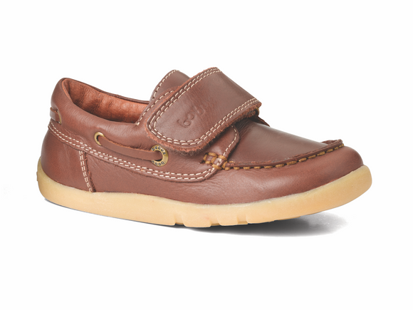 Bobux Iwalk Dockside dress shoe Brown