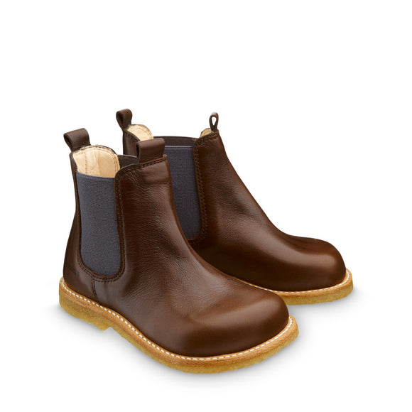 Angulus Dark Brown Chelsea Boot