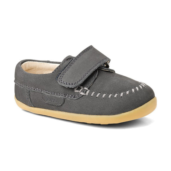 Bobux Step Up Dream Catcher Moccasin Charcoal