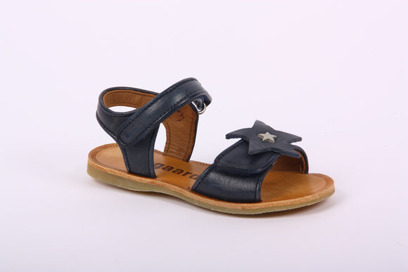 Bisgaard Navy Sandal star eu24 only