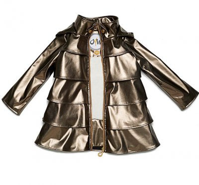 Oil & Water Bronze Opera Raincoat with Fleece lining