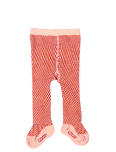Kidscase Tights Pink / Red