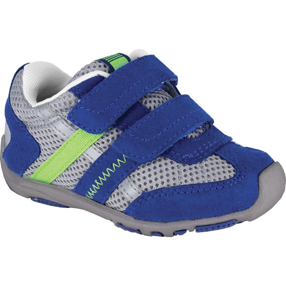 Pediped Flex Gehrig Blue / Grey Trainer