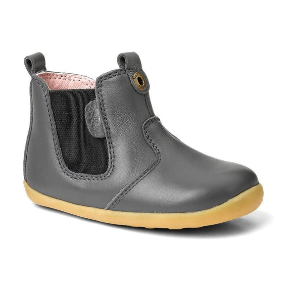 Bobux Step Up Jodphur boot Charcoal- EU19 only