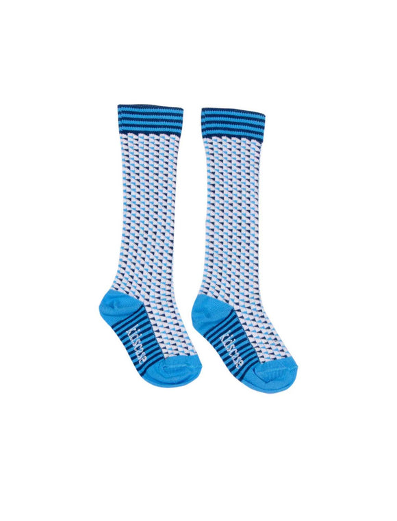 Kidscase Knee high Socks Dark Blue