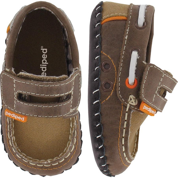 Pediped Originals Naples Brown Shoe