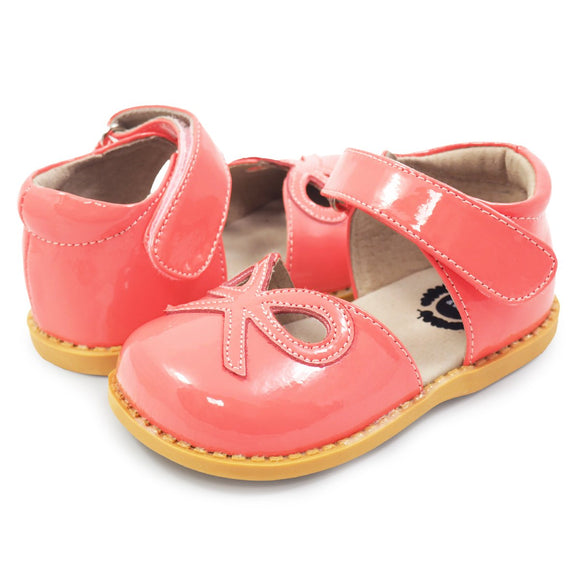 Livie & Luca Bow Coral patent