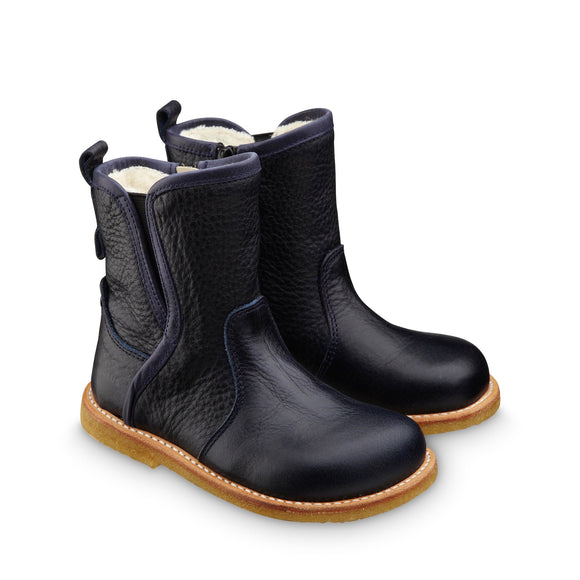 Angulus Dark Blue Panel Boot