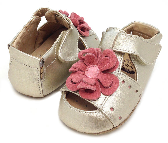 Livie & Luca  Baby Bloom Gold sandal