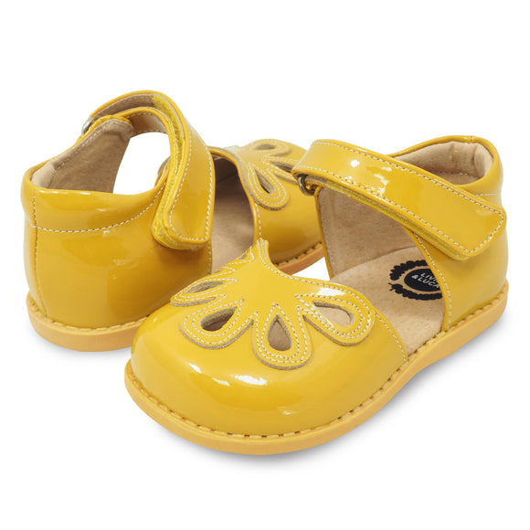Livie & Luca Petal Yellow patent
