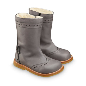 Angulus Light Grey TEX Long Boot