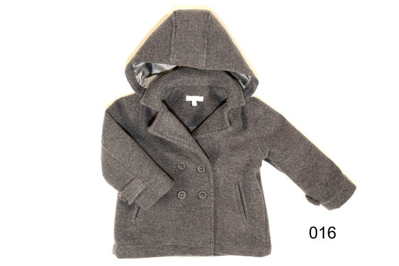 Patachou Boys Grey coat