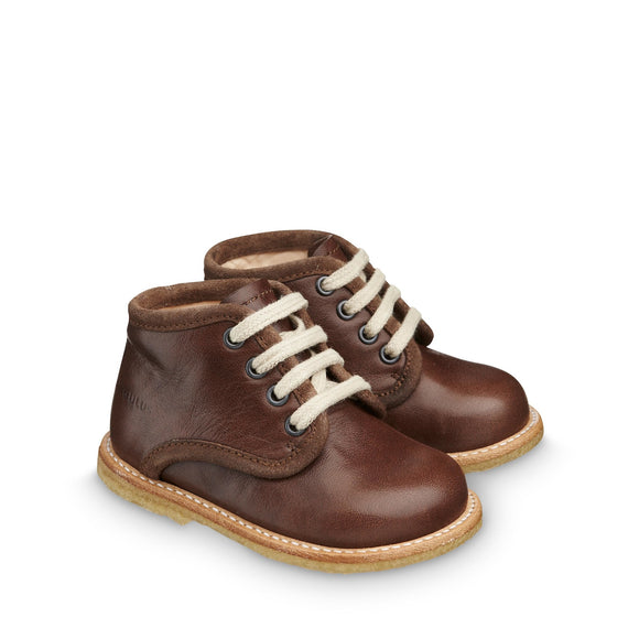 Angulus Classic Brown Lace-up Boot