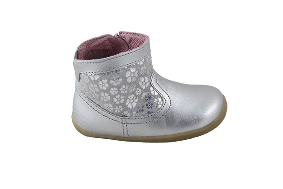 Bobux Step up Gaze Silver boot