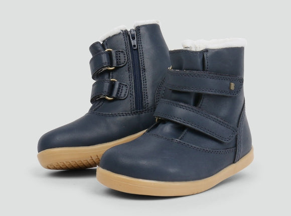 Bobux iWalk Aspen Navy Boot (merino lined)