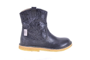 Petit By Sofie Schnoor  Black Glitter Boot