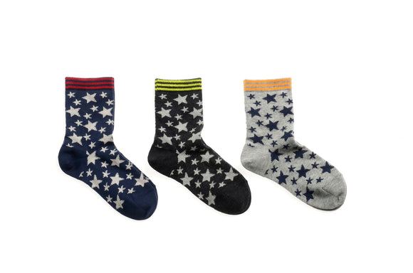 MP Sporty star sock Grey/Navy