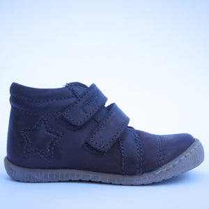 Pom Pom  Walkies Star Velcro Brown