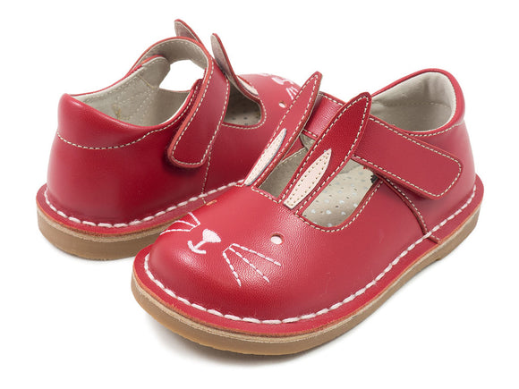Livie & Luca Molly Red leather