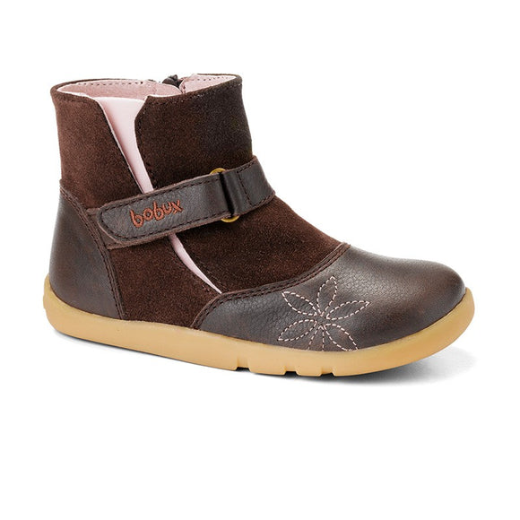 Bobux Iwalk Chocolate urban beat boot