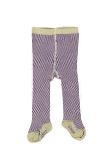 Kidscase Tights Soft Green / Purple