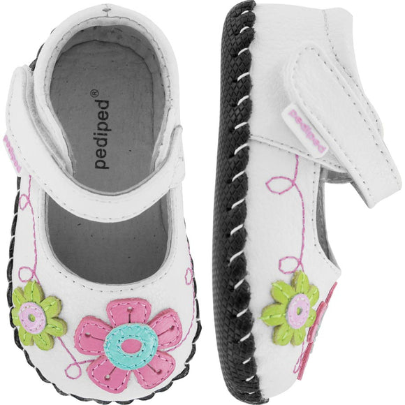 Pediped Originals Sadie White Maryjane