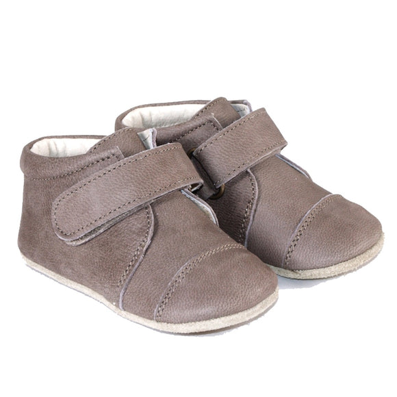 Petit Nord Taupe Velcro Shoe