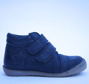 Pom Pom  Walkies Star Velcro Navy