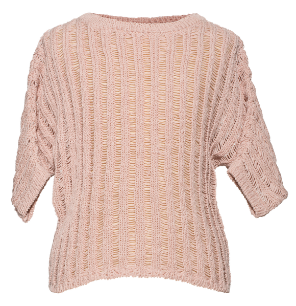 Pale Cloud Pale Pink Harper sweater