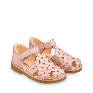 Angulus Patent Dusty Pink T-Bar sandal