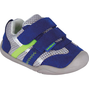Pediped Grip n Go Gehrig Blue/Grey/Lime Trainer
