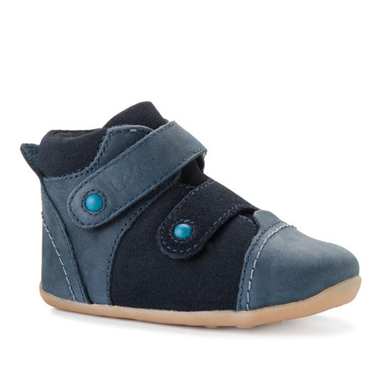 Bobux Step Up Navy tumble tom boot