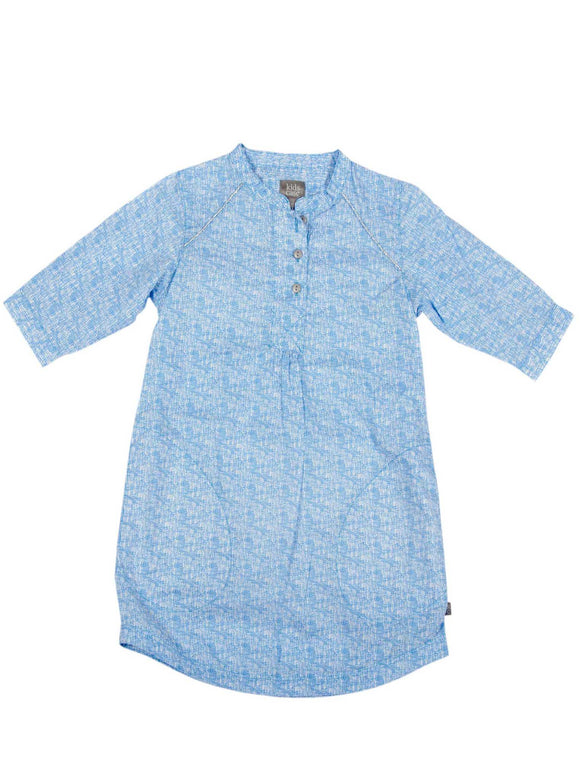 Kidscase Steve Dress Blue print