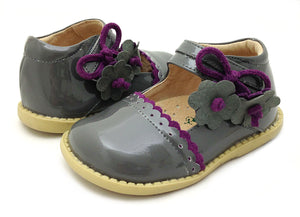 Livie & Luca Bluebell Grey patent