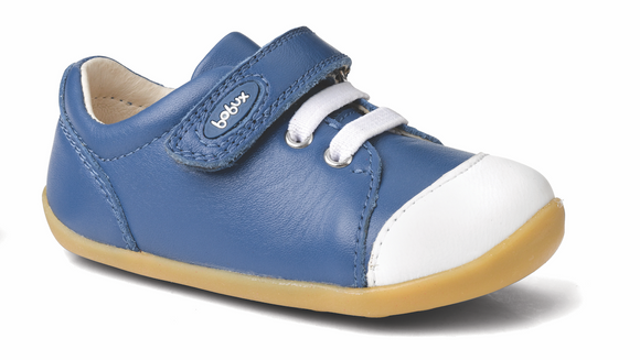 Bobux Step Up Ice Cap trainer Cobalt