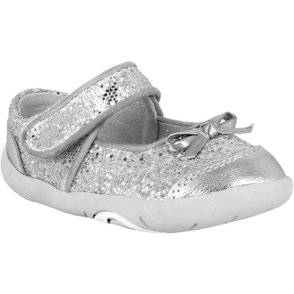 Pediped Grip n Go Ines Silver Maryjane
