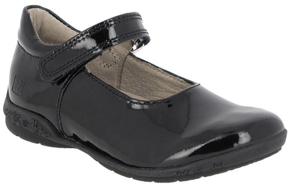 Noel Armani Black patent Mary Jane